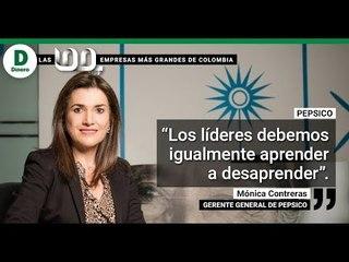 Pepsico, aprender a desaprender.  Mónica Contreras dirige las operaciones para la región Andina.