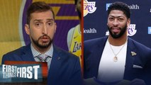 Nick Wright agrees Anthony Davis not winning a title would be a failure - NBA - FIRST THINGS FIRST