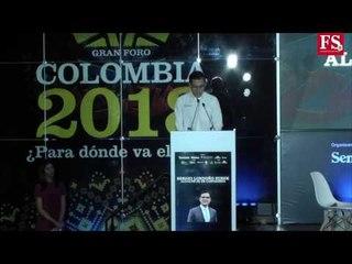 PARTE 1 ¿Para dónde va el país? Gran Foro Colombia 2018