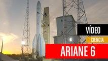 Espectacular ensamblaje del cohete espacial europeo Ariane 6