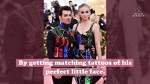Sophie Turner and Joe Jonas got matching tattoos in honor of their dog Waldo, and we're crying
