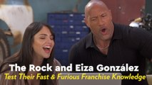 We Quizzed The Rock and Eiza González on Their Fast and Furious Knowledge, and Damn, They're Good