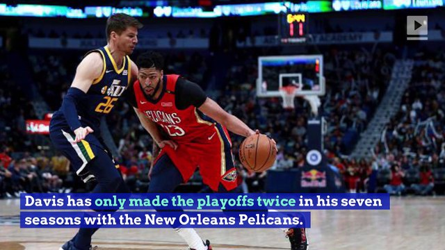 Anthony Davis Will Keep Chasing NBA Title Until He Succeeds