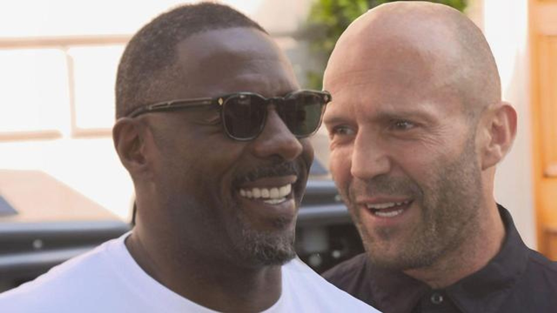 On Set With 'Hobbs & Shaw' Stars Idris Elba and Jason Statham (Exclusive)