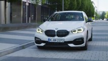 BMW 1 Series Driving in the city
