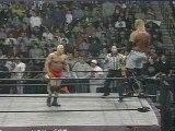 WCW - Sid Vicious - Leg Break - (Wrestling is Fake My Ass)