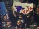 The Rock makes fun of Big Show haircut WWE WWF RAW