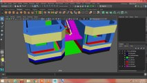 Maya tutorial. Part 15. Modeling cantilever design. Cantilever Railing Design. House modeling Tutorial. Make Home Design. Maya tutorial Hindi. Learn Autodesk Maya 2017. Maya 2018. Maya Modeling Project.