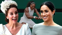 Meghan Markle And Kate Middleton To Team Up Together To Cheer On Serena Williams At Wimbledon