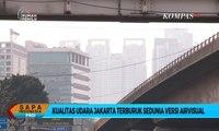 Polusi Udara Jakarta Terburuk, Inilah yang Seharusnya Dilakukan Pemerintah