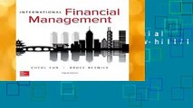 International Financial Management (The Mcgraw-hill/Irwin Series in Finance, Insurance, and Real