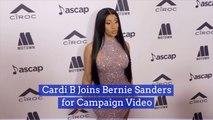 Bernie Sanders Taps Cardi B For Campaign Video