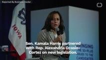 Kamala Harris And AOC Team Up