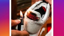 Nike : la chaussure qu'il faut brûler pour révéler le logo Strangers Things