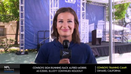Cowboys sign Running Back Alfred Morris