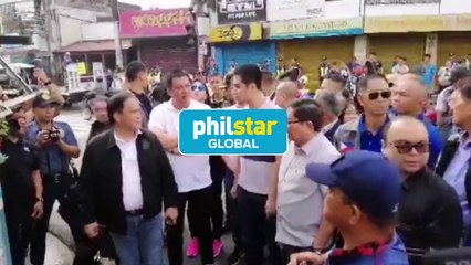 Vico Sotto, MMDA officials lead clearing ops in Pasig City