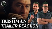 The Irishman Teaser Trailer Reaction - Review