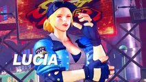 Street Fighter V : Arcade Edition - Bande-annonce Lucia