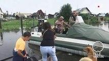 La Sibérie frappée par d'importantes inondations