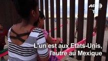 Des balançoires pour rapprocher les enfants à la frontière mexicaine
