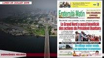 Le Titrologue du 29 juillet 2019- Voici ceux qui menacent le pouvoir de Ouattara