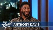 Anthony Davis on Lakers Trade, LeBron James - Space Jam