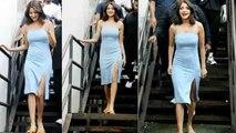 Anushka Sharma looks beautiful during shooting in Mumbai | FilmiBeat