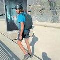 BASE jump depuis un barrage