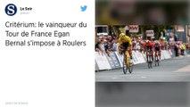 Cyclisme : Deux jours après sa victoire au Tour de France, Egan Bernal remporte le critérium de Roulers