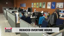 Workers at SMEs with at least 300 employees see reduced overtime hours