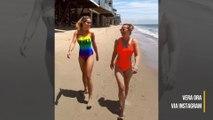 La mère de Rita Ora n'approuve pas ses itsy bikinis