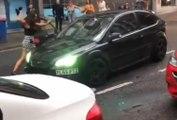 Road rage façon GTA à Newcastle !