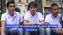 La puberté masculine arriverait de plus en plus tôt