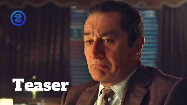 The Irishman Teaser Trailer #1 (2019) Robert De Niro, Al Pacino Drama Movie HD