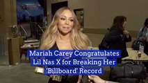 Mariah Carey Sends A Message To Lil Nas X