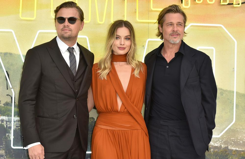 Brad Pitt found it 'easy peasy' working with Leonardo DiCaprio