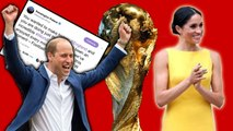 Prince William Cheers On England - Could Meghan Markle - Royals Be Going To World Cup Final?