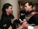 Eddie Guerrero, Dean Malenko & Perry Saturn backstage segment