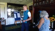 Video of scratch and handicap winners receiving their trophies