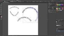 Adding text in the shape of a circle (Adobe Illustrator)_2 - video dailymotion