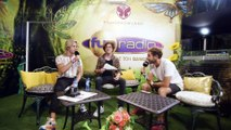 OFENBACH en interview sur Fun Radio à Tomorrowland 2019