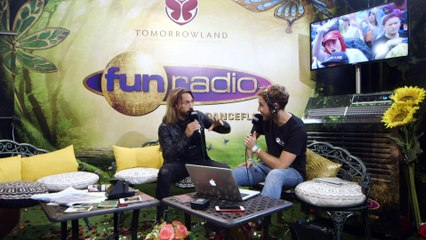BOB SINCLAR en interview sur Fun Radio à Tomorrowland 2019
