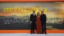 Margot Robbie, Brad Pitt, and Leonardo DiCaprio at UK Premiere of 'Once Upon a Time in Hollywood'