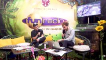 Klingande en interview sur Fun Radio à Tomorrowland 2019