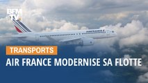 Air France modernise sa flotte