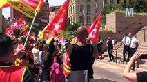Rassemblement de soutien aux femmes de chambre en lutte à l'Intercontinental de Marseille