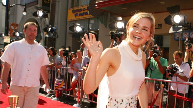 Emma Watson Posted A Throwback Photo To Celebrate J.K. Rowling's Birthday