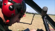 Vol d'hélicoptère à Chabeuil