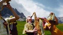 Festival de jazz em meio à paisagem bucólica dos Alpes italianos