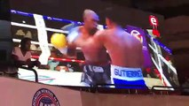 WOWOWOWOW - Doble knockdown en William Encarnación vs Giovanny Gutiérrez en la velada KOal